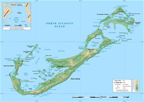 map of usa and bermuda maps of bermuda map library maps of the world