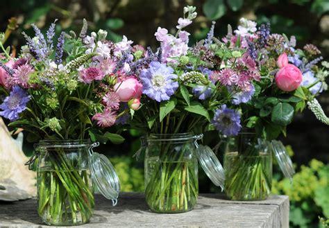 spriggs florist kilner jars english summer flowers