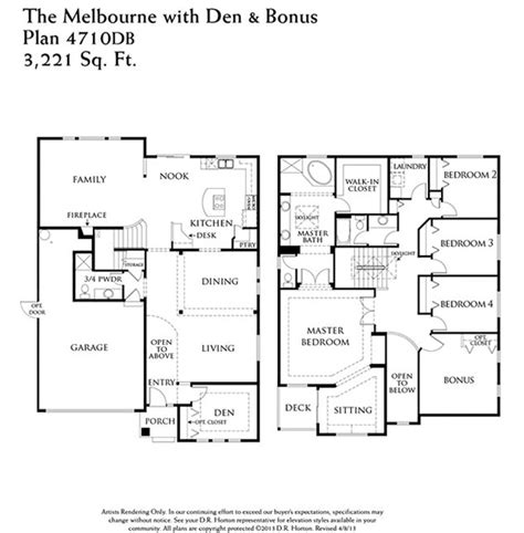 floor plans melbourne 4710 floor plan