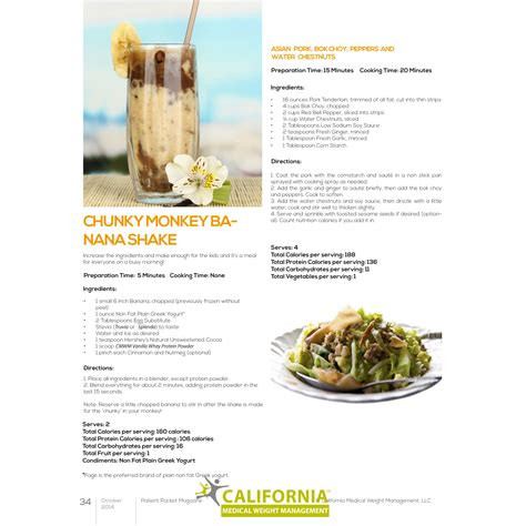 weight management watsonville ca original recipes for dieters from california