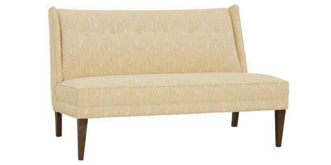 designer settees anastasia quot designer style quot banquette settee sofa