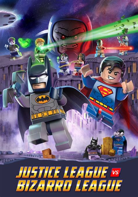 lego movie justice league vs lego dc comics super heroes justice league vs bizarro