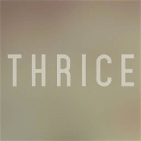 thrice nov 18 thrice tour dates tickets concerts 2018 2019 concertful