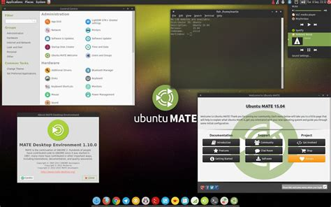 themes gnome mate ubuntu mate with the numix theme looks great might get