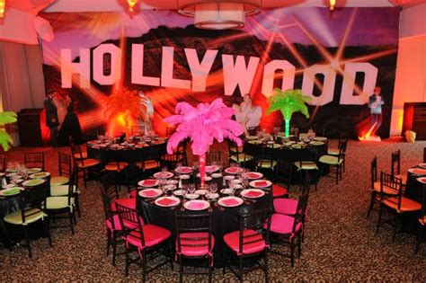 hollywood themed events sweet 16 hollywood theme party ideas