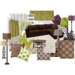 green and purple home decor warm living room ideas color scheme brown green purple