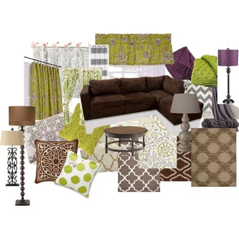 taupe and purple bedroom warm living room ideas color scheme brown green purple