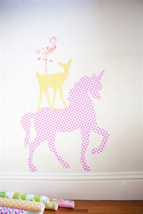 Printable Wall Stickers | diy giant animal wall stickers with free printables