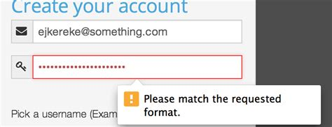 pattern password html5 html5 form verification blocks the password to 16 chars