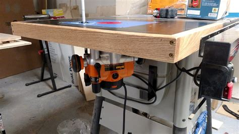 delta table saw accessories delta 36 725 table saw router table by rrich1