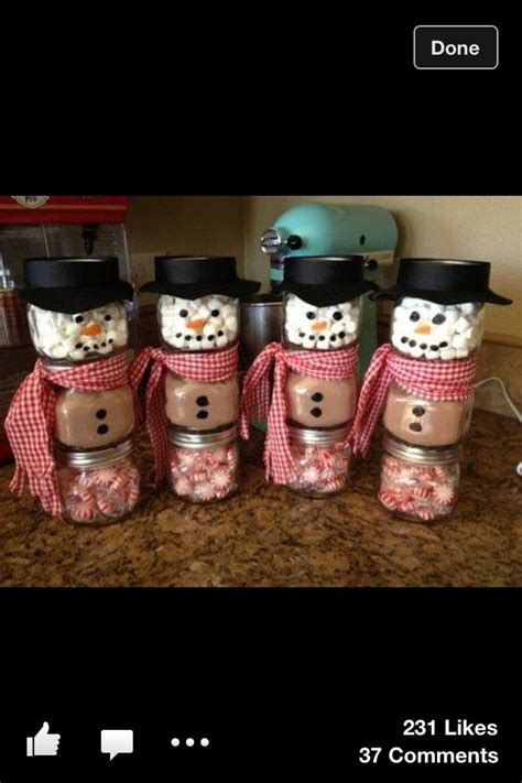 cute homemade gift idea for christmas if visiting family