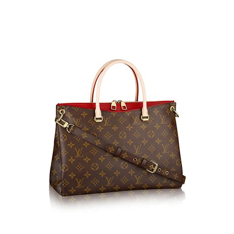 pallas monogram canvas handbags louis vuitton