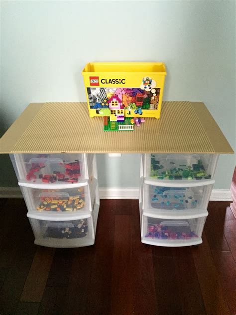 table with velcro lego table i made for my with a velcro top so it can