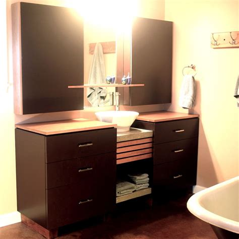 made bathroom cabinets by furniture
