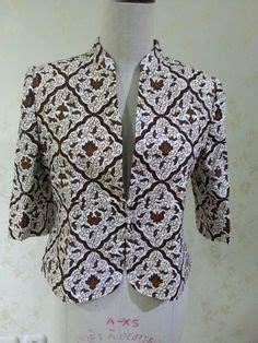 Blus Batik Lonceng Sogan 3 casual 3 4 sleeve blazer made from batik tulis lasem made by dongengan https m