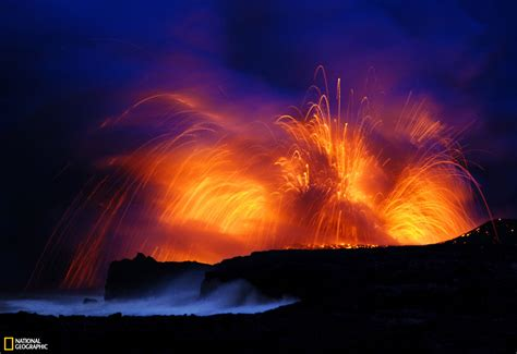 lava in kilauea hawaii volcano from bing volcano wallpaper and background image 1600x1100 id 96826