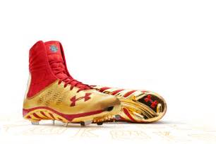 Under armour 2012 mlb all star game spine highlight cleat sole