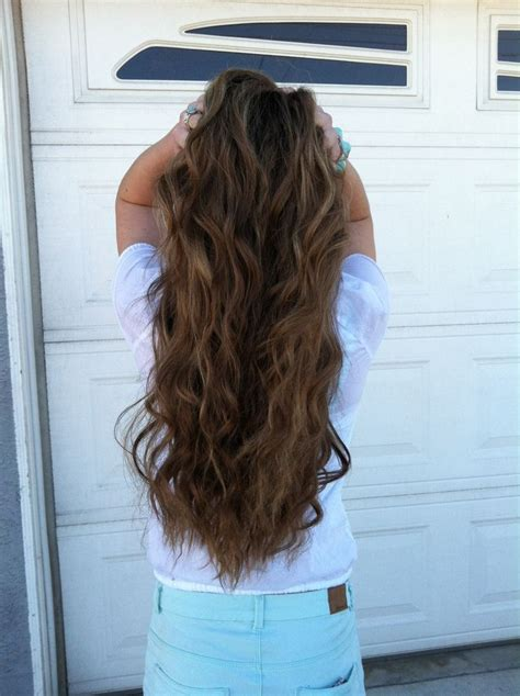 loose curl perm extra long hair loose perm hair pinterest loose curl perm hair type