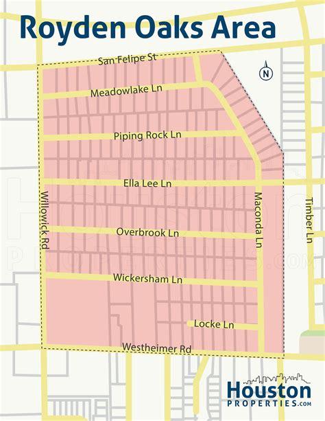 houston map for sale royden oaks homes for sale houston royden oaks real estate