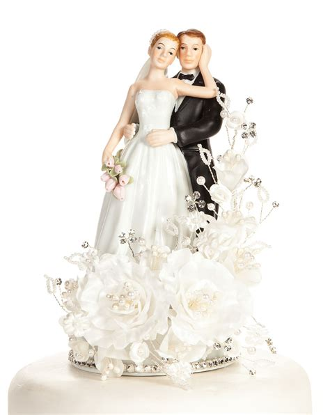 Wedding Cake Toppers by Floral Cake Toppers Wedding Collectibles Wedding Cake