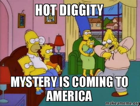 Coming To America Meme - hot diggity mystery is coming to america make a meme