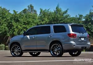 Toyota Sequoia Wheels 2009 Toyota Sequoia With 24 Quot Lexani Lss 10 In Machined
