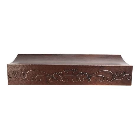 Copper Cabinet Range by Custom 30 Cabinet Copper Range With Scroll