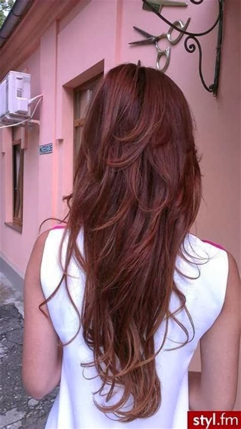 hairstyles for long hair red long red hair red hairstyles for women 09600