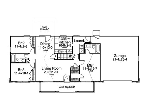 3 Bedroom Ranch Style House Plans by 3 Bedroom Ranch Style House Plans Rustic House Design And