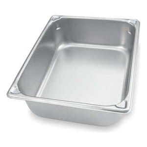 stainless steel buffet pans buy 6 quot two thirds size pan ii 195 194 174 stainless