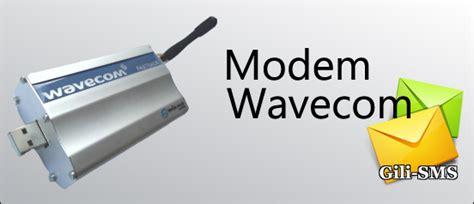 Modem Gili Sms panduan koneksi gili sms dengan modem wavecom 1206b 1306b