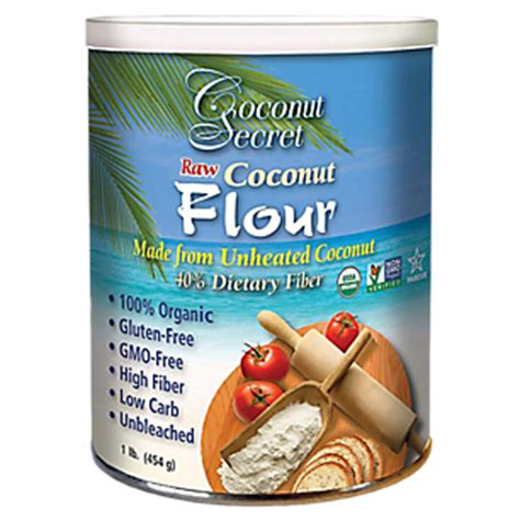 Coconut Powder Vitamin coconut flour 454 grams powder by coconut secret at the vitamin shoppe