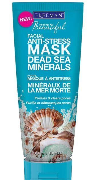 Freeman Exfoliating Mineral Rinse Mask look new freeman dead sea minerals anti stress mask nouveau cheap