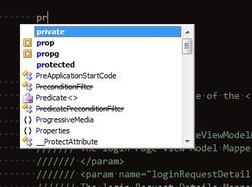xml tutorial visual studio 2010 visual studio 2010 vs2010 code snippet shortcut not