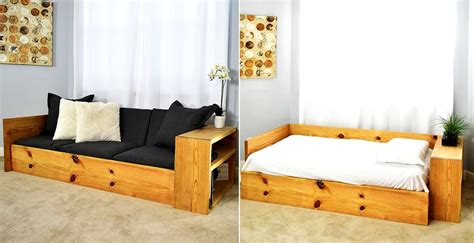 build space saving sofa bed
