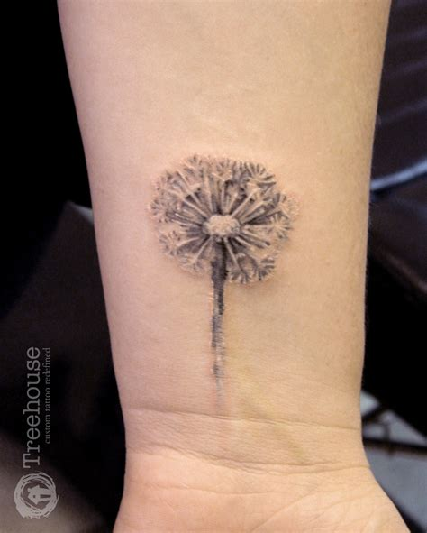dandelion wrist tattoos 1000 ideas about dandelion design on