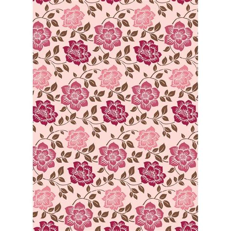 Floral Craft Paper - 1 8 quot x12 quot sheet kanban shabby chic floral cardstock paper