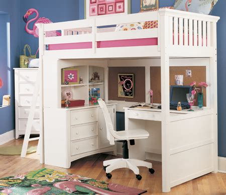 Bedroom Designs White Bunk Bed With Desk Bed And Desk White Loft Bunk Bed With Desk