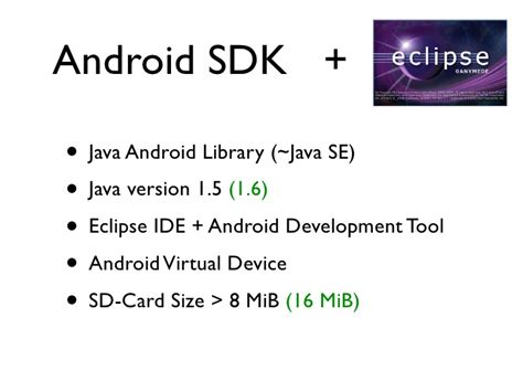java android development android application development