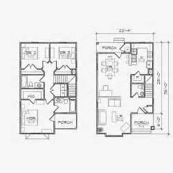 house plans small under beach lots view lot duplex for
