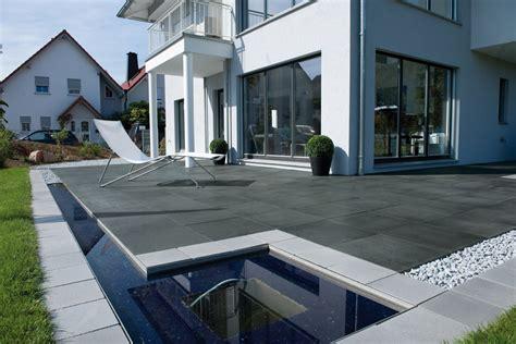 terrassenplatten anthrazit produkte metten stein design