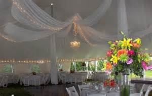 draping a tent wedding canopies