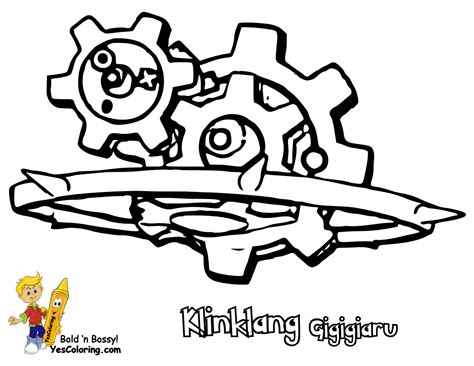 klink pokemon coloring pages master pokemon black and white printables foongus