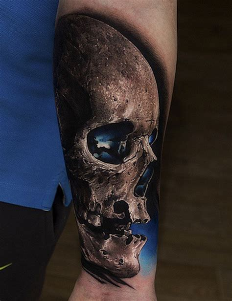 skull tattoos 15 realistic skull tattoos and the artists them