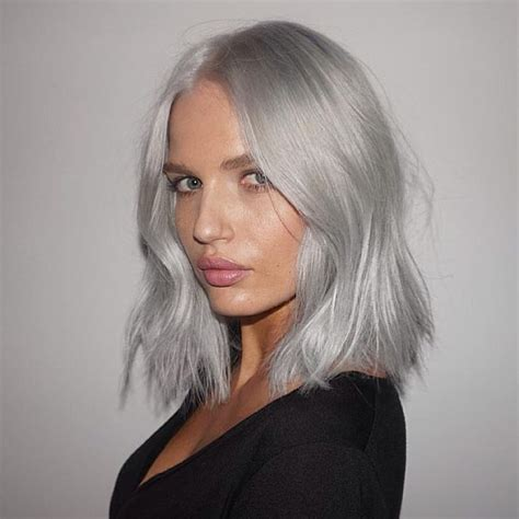 trend gray platinum hair men 17 best images about trend grey hair on pinterest long