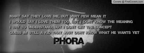 phora love quotes quotesgram