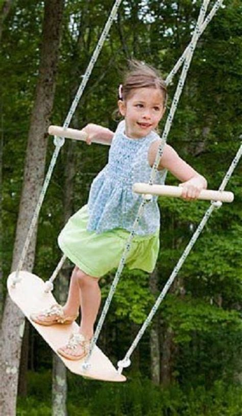 how to make a good rope swing 25 best backyard ideas kids on pinterest backyard ideas