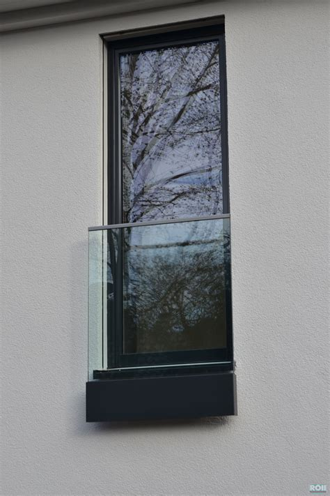 Französischer Balkon Glas by Glas