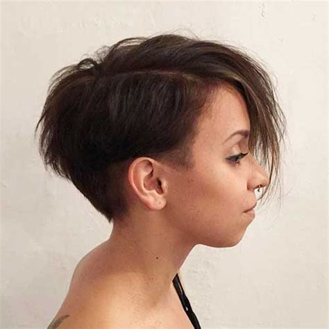 womens asymmetrical haircuts front and back really cool asymmetrical pixie cut pics short hairstyles