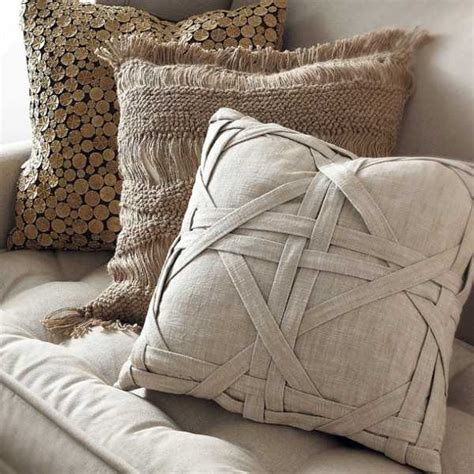 Sofa Throw Pillow Ideas 20 Creative Decorative Pillows Craft Ideas With Texture And Color